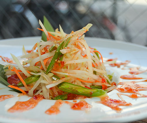 S13. Green Papaya Salad